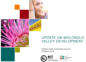 molonglo update
